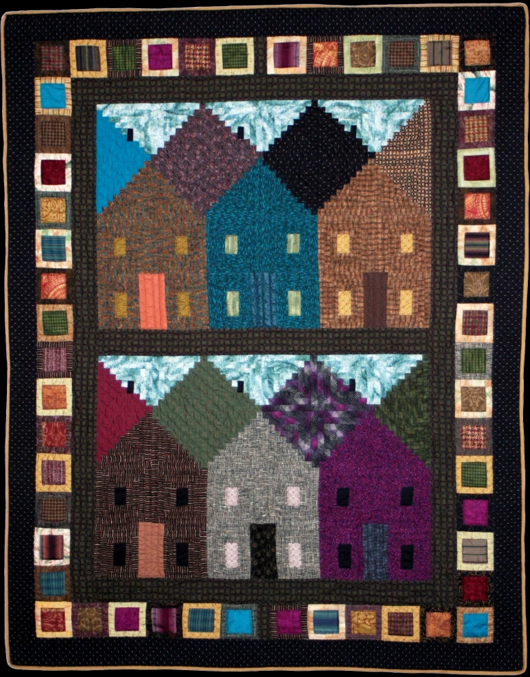 Free Quilt Patterns Of Houses : Free Patterns
